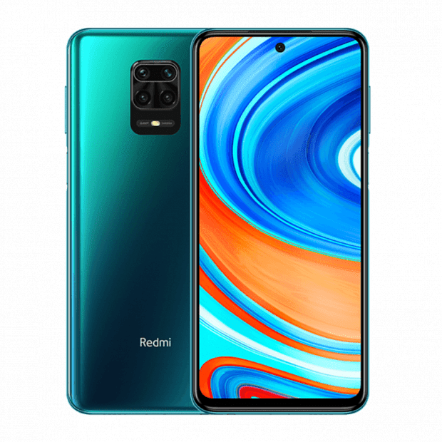 Смартфон Xiaomi Redmi Note 9S 128GB/6GB (Blue/Синий)